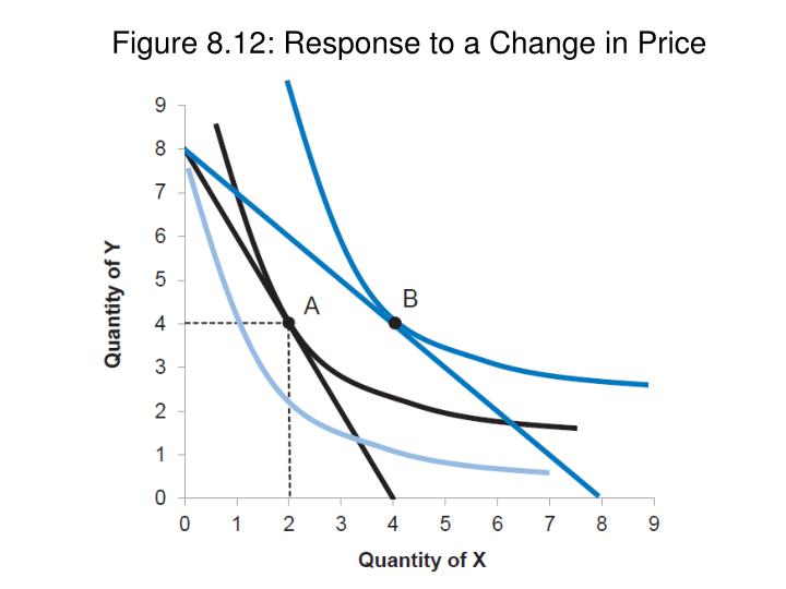 Figure 8.12: Response to a Change in Price