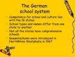 the german school system