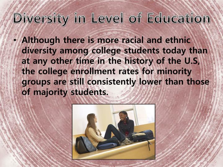 Diversity in Level of Education