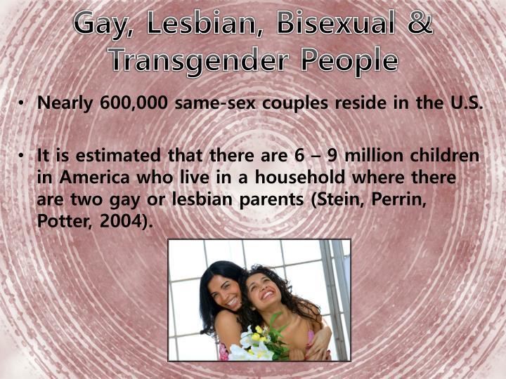 Gay, Lesbian, Bisexual &       Transgender People