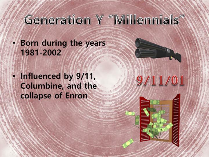 """Generation Y """""""