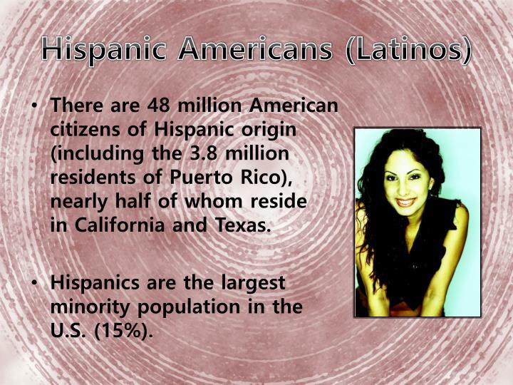 Hispanic Americans (Latinos)