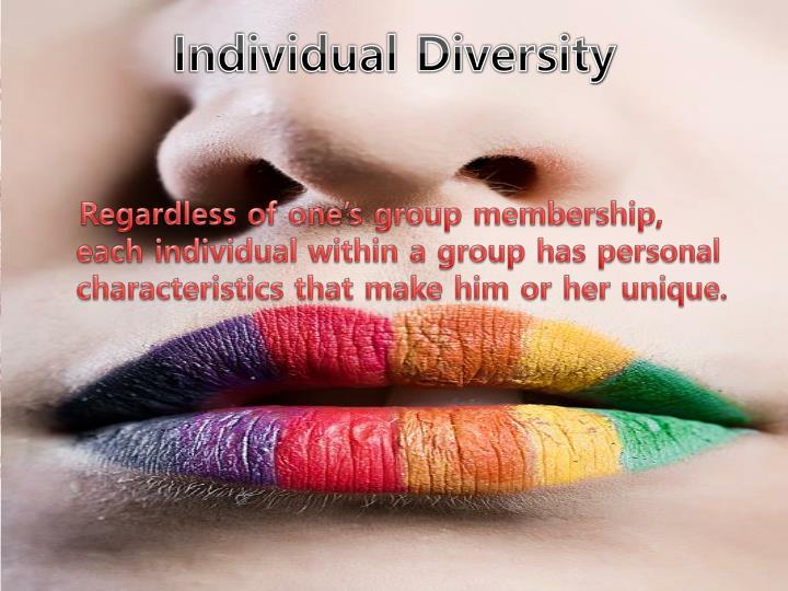 Individual Diversity