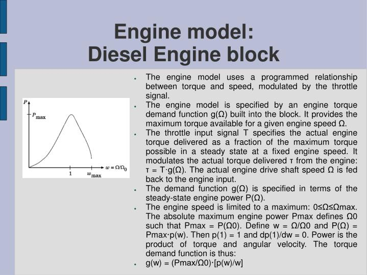 Engine model: