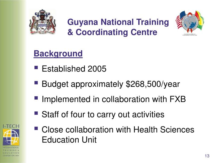 Guyana National Training