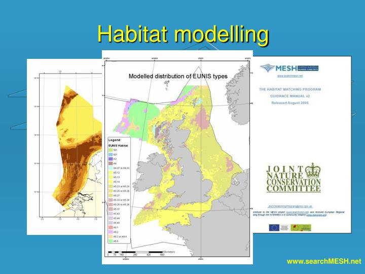 Habitat modelling