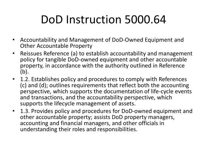 DoD Instruction