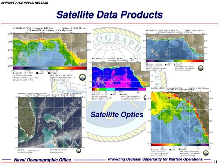 Satellite Data Products