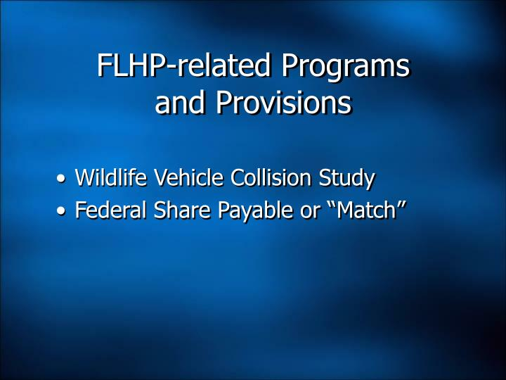 FLHP-related Programs