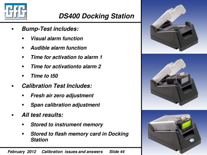 DS400 Docking Station