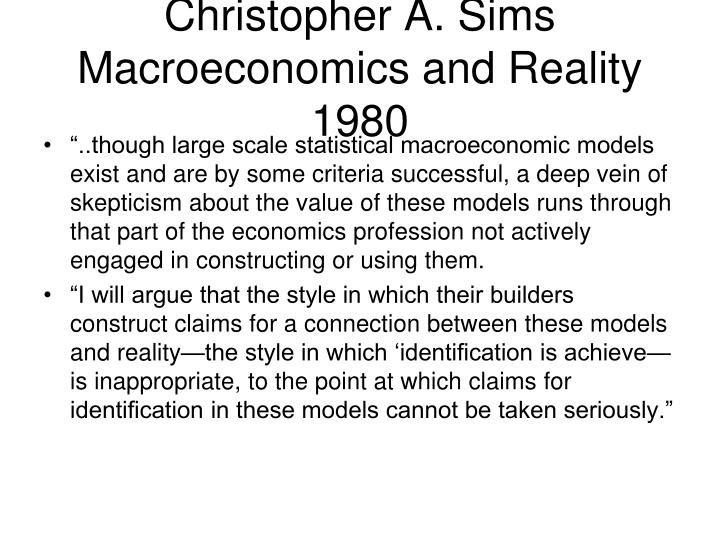 Christopher A. Sims