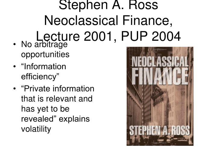 Stephen A. Ross