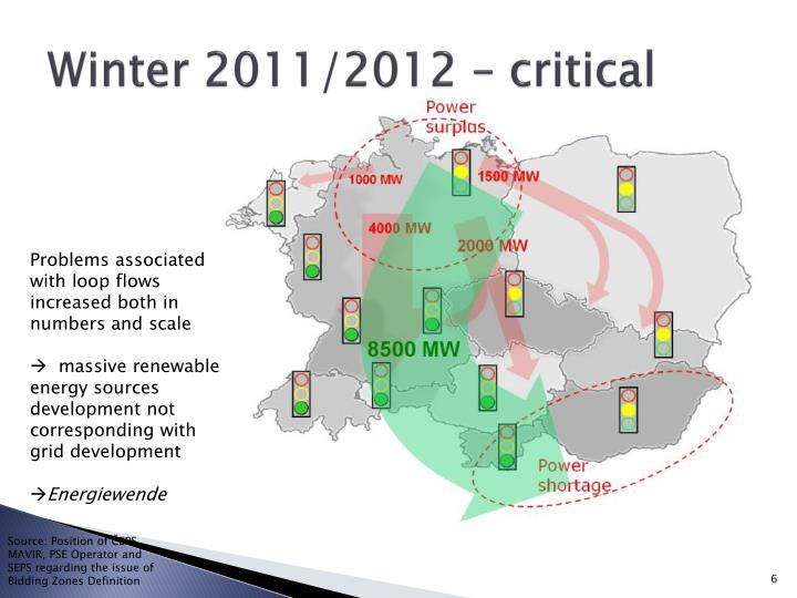 Winter 2011/2012 – critical