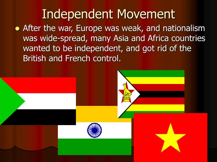 Independent Movement