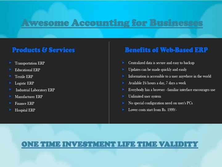 Awesome Accounting for Businesses