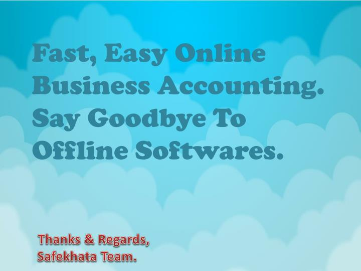 Fast, Easy Online Business Accounting.