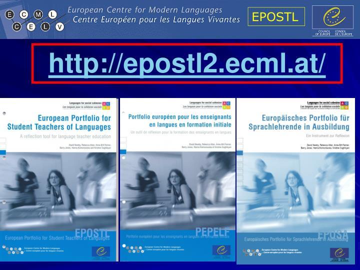 http://epostl2.ecml.at/