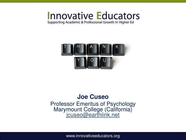 Joe Cuseo