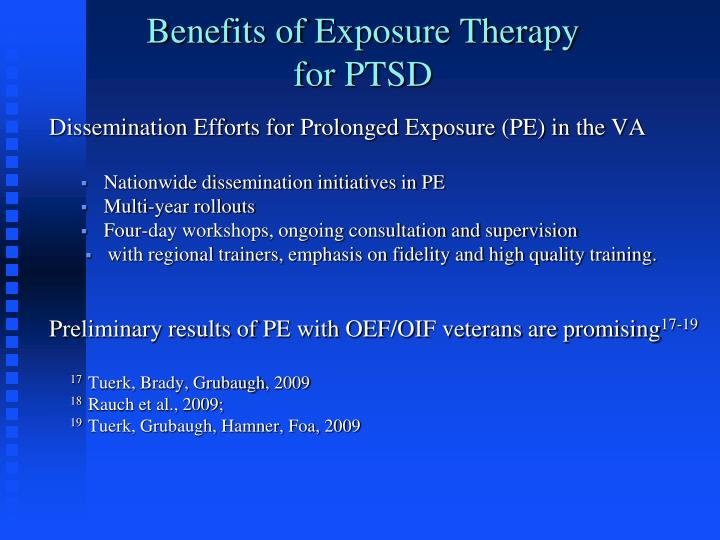 Benefits of Exposure Therapy