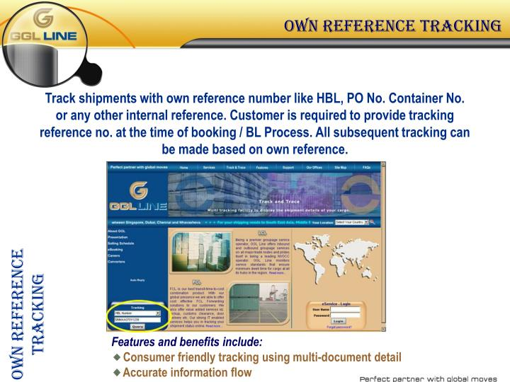 Own reference tracking