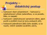 projekty didaktick postup4