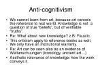 anti cognitivism1