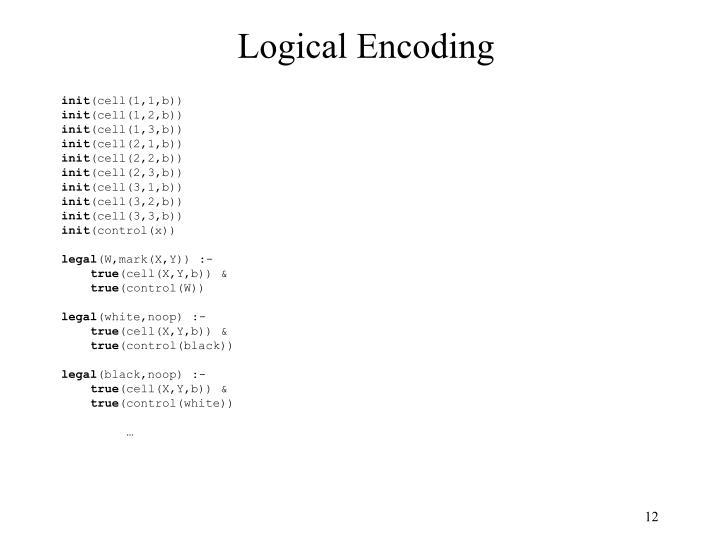 Logical Encoding