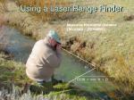 using a laser range finder