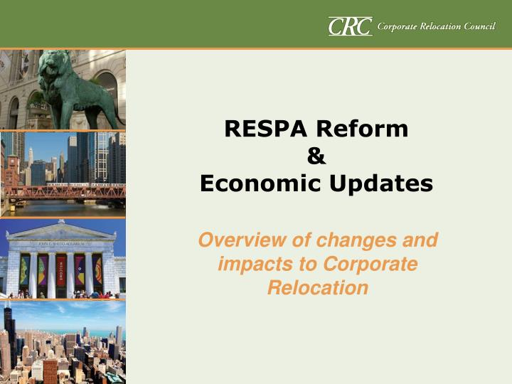 Respa reform economic updates