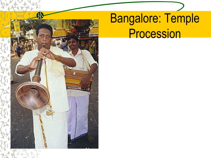 Bangalore: Temple Procession