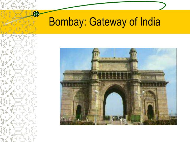 Bombay: Gateway of India