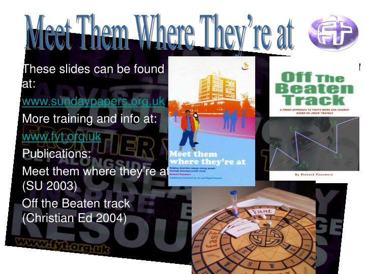 These slides can be found at: