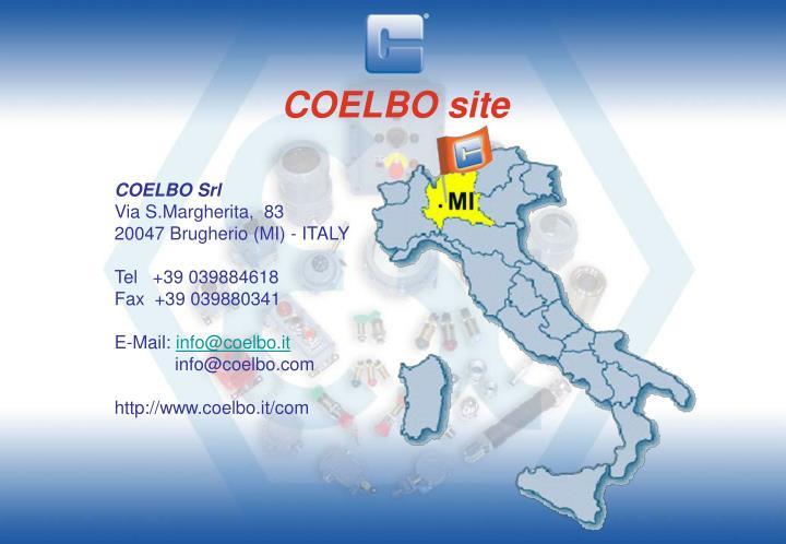 COELBO site