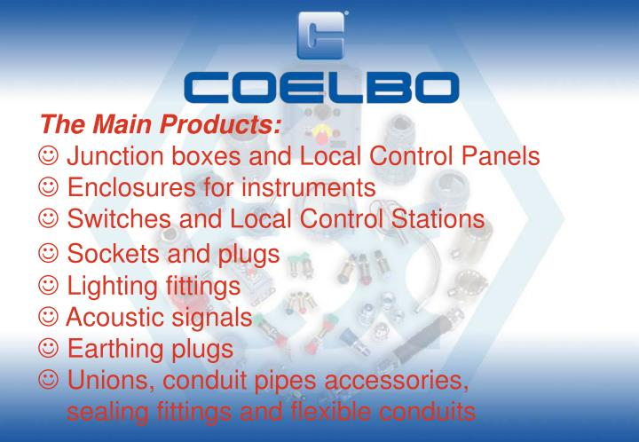 The Main Products: