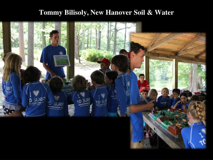 Tommy Bilisoly, New Hanover Soil & Water