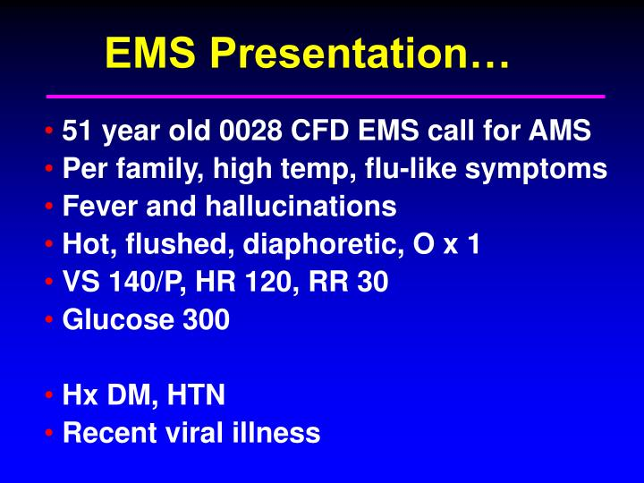 EMS Presentation…