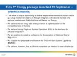 eu s 3 rd energy package launched 19 september