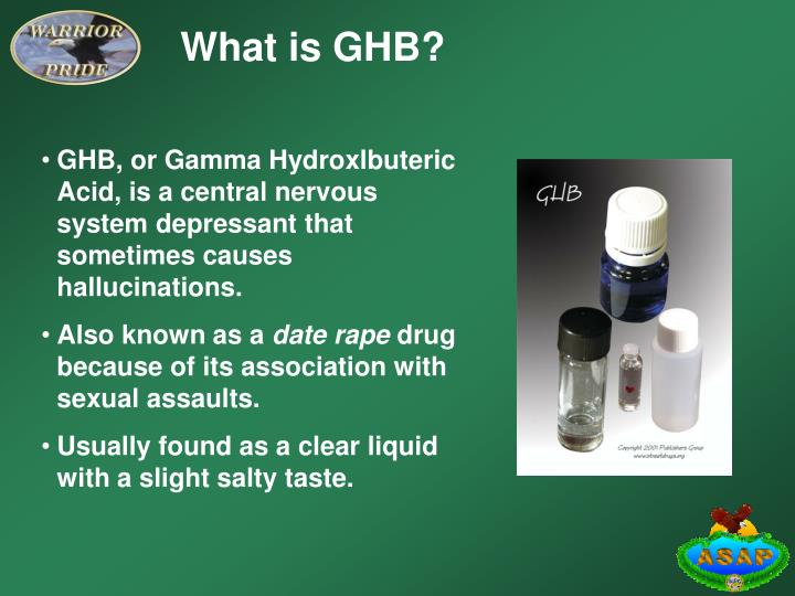 What is GHB?