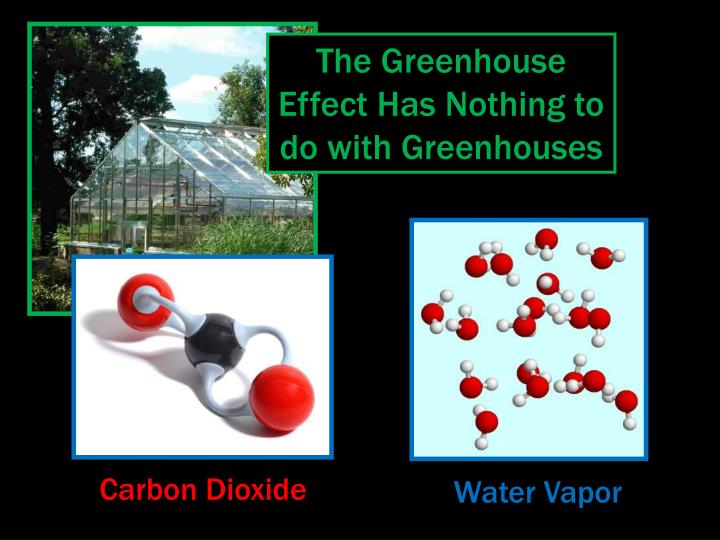 The Greenhouse Effect Has Nothing to do with Greenhouses