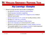 key learnings examples1