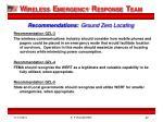 recommendations ground zero locating1