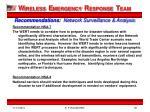 recommendations network surveillance analysis2