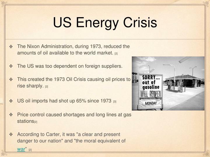 US Energy Crisis