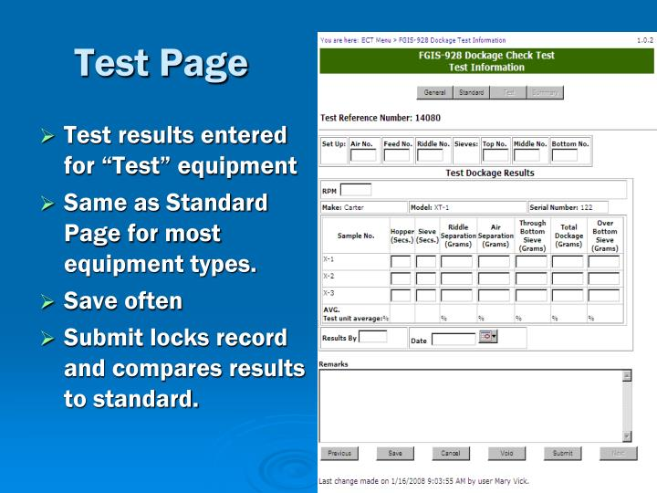 Test Page