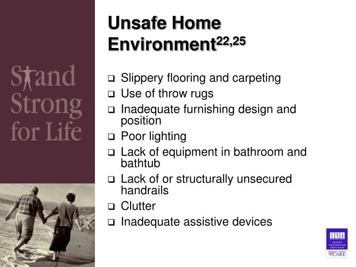 Unsafe Home Environment