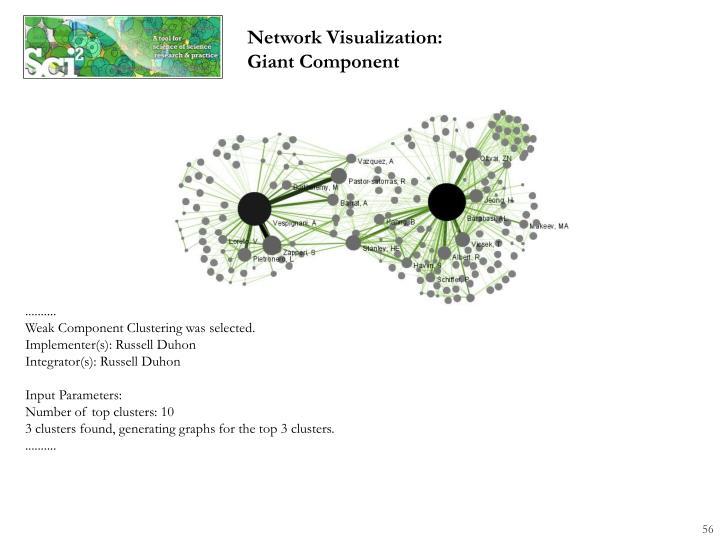 Network Visualization: