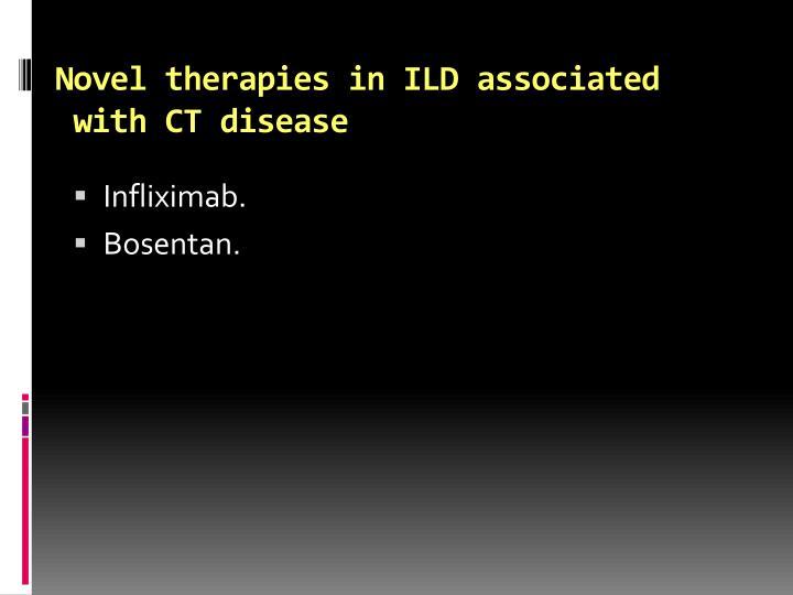 Novel therapies in ILD associated