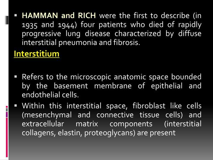 HAMMAN and RICH