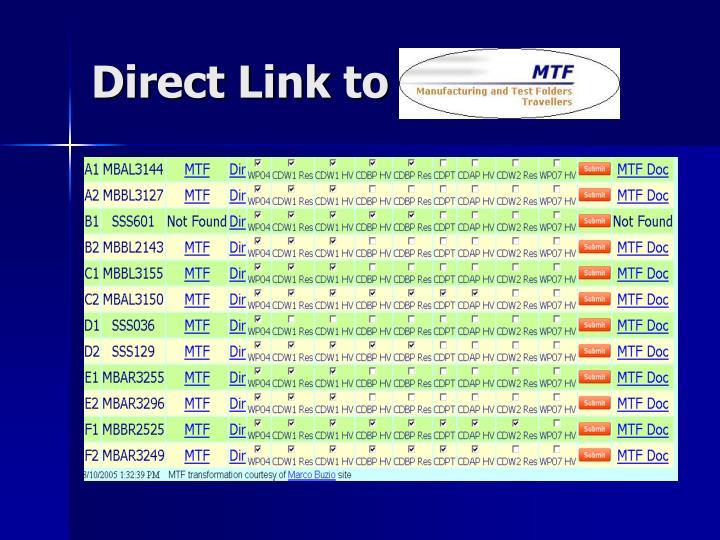 Direct Link to MTF DB