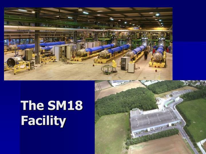 The SM18 Facility